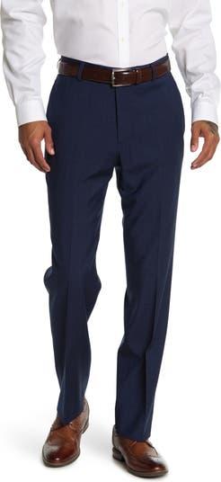 Темно-синие брюки с прямыми штанинами Brooks Brothers