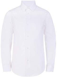 Приталенная классическая рубашка на пуговицах Calvin Klein
