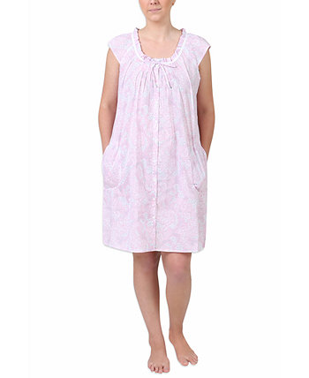 Женская ночная рубашка с принтом из хлопка Miss Elaine