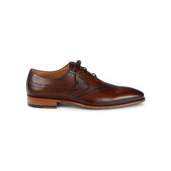 Bertone Leather Oxfords Mezlan
