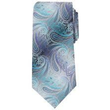 Удлиненный галстук Big & Tall Bespoke Lynwood с узором пейсли Bespoke