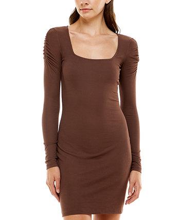 Облегающее платье с квадратным вырезом для юниоров Ultra Flirt