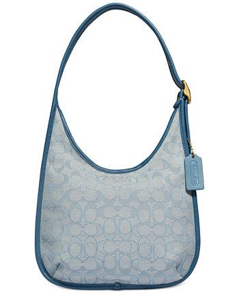 Ergo Medium Shoulder Bag In Signature Jacquard COACH
