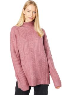 Вязаный свитер с высоким воротом Bobeau