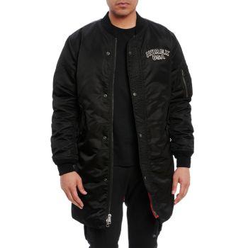 Длинная куртка-бомбер Avirex