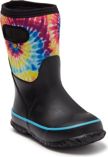 Grasp Tie Dye Print Rain Boot Bogs