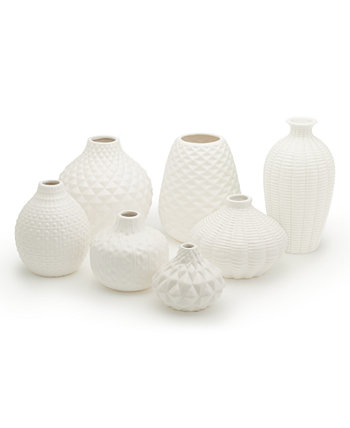 Вазы для бутонов Artisan Carvings - набор из 7 Two's Company
