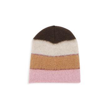 Шляпа в широкую полоску с люрексом JOCELYN