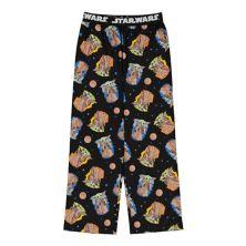 Мальчики 4-16 Звездные войны Мандалорианец Ребенок AKA Baby Yoda Пижамные штаны в цветах Regular и Husky Licensed Character
