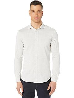 Трикотажная рубашка с воротником из трикотажа Eleventy