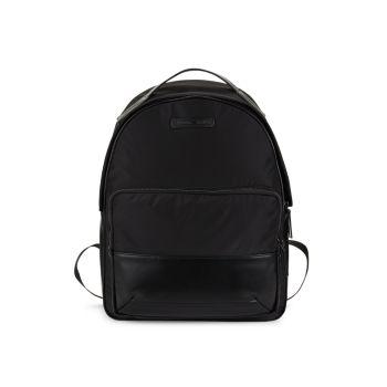 Мягкий рюкзак с логотипом Emporio Armani