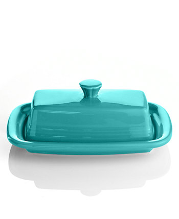 Turquoise XL Covered Butter Dish FIESTA