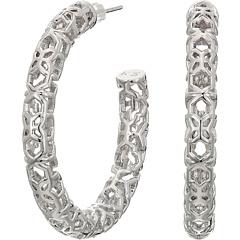 Серьги-кольца Maggie 1,5 дюйма Kendra Scott