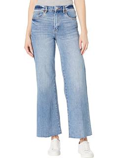 Укороченные широкие джинсы с высокой посадкой в стиле After Party Blank NYC