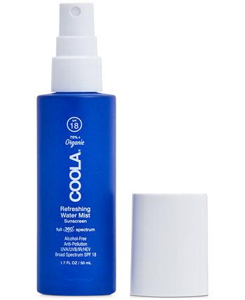 Full Spectrum 360 ° Освежающий водяной туман Органический солнцезащитный крем для лица SPF 18, 1,7 унции. COOLA
