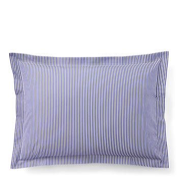 Organic Striped Shirting Sham  dard Ralph Lauren