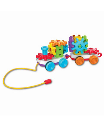 Techno Kids Stack и Spin Pull Along Train The Learning Journey