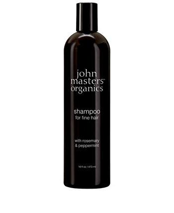 Шампунь для тонких волос с розмарином и мятой - 16 эт. унция John Masters Organics