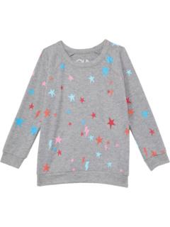 Вязаный пуловер реглан из переработанного материала RPET (для маленьких и больших детей) Chaser Kids
