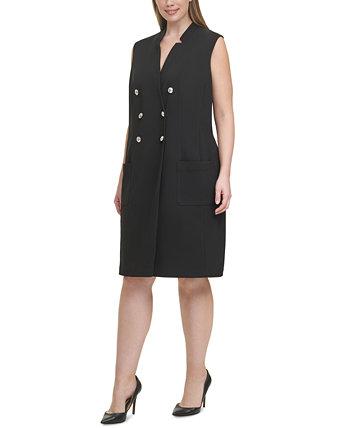 Plus Size Tuxedo Dress Tommy Hilfiger