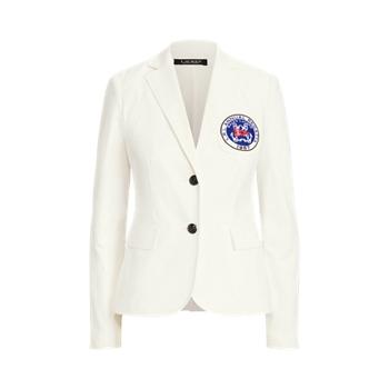 Nautical Stretch Cotton Blazer Ralph Lauren