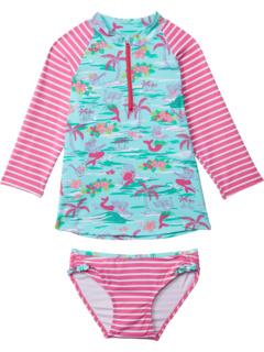 Набор рашгардов Tropical Mermaids (для малышей / маленьких детей / старших детей) Hatley Kids