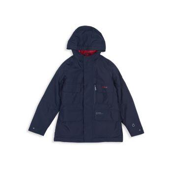 Little Boy's & amp; Водонепроницаемая куртка для мальчиков Deptford Barbour