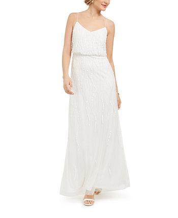 Украшенное блузонное платье Adrianna Papell