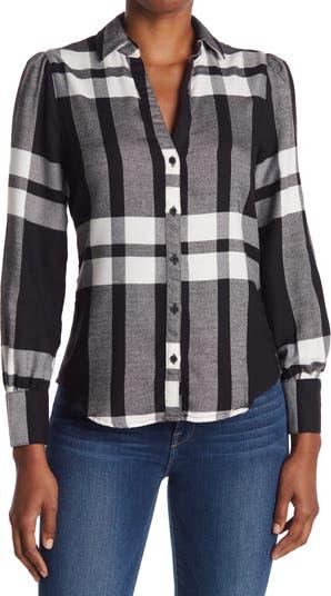 Роскошная фланелевая рубашка на пуговицах Como Vintage