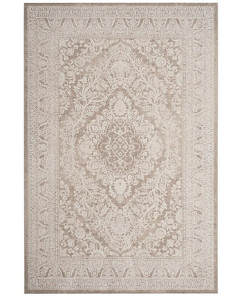 Reflection Beige and Cream 3' x 5' Area Rug Safavieh