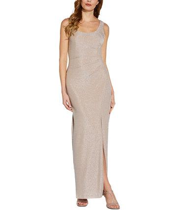 Вязаное платье с блестками Adrianna Papell