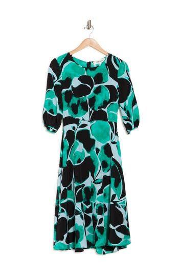 Платье прямого кроя с принтом DVF Bliss Diane von Furstenberg