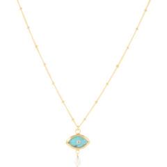 Ожерелье сглаза с алмазным центром Chan Luu