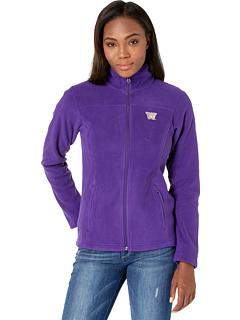 Флисовая куртка с молнией во всю длину Washington Huskies CLG Give and Go ™ II Columbia College