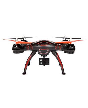 Wraith Spy Drone 4.5 Канал 1080P Hd Видеокамера 2.4 ГГц Rc Quadcopter World Tech Toys