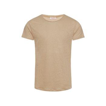 Льняная футболка с круглым вырезом ORLEBAR BROWN