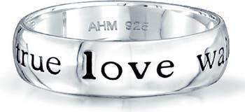 Кольцо из стерлингового серебра Pure Innocence Bling Jewelry