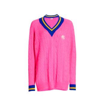Вязаный свитер с кончиками Etro