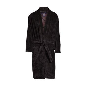 Велюровый халат Polo Ralph Lauren