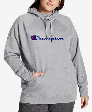 Худи большого размера с логотипом Powerblend Champion