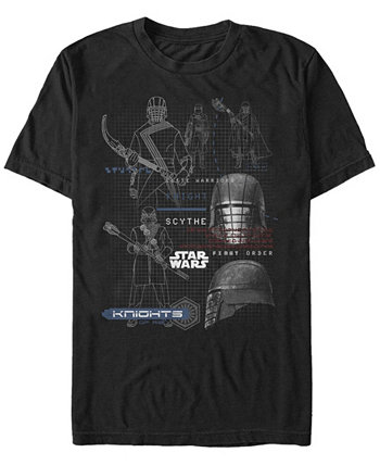 Мужская футболка Episode IX Knights of Ren Grid Star Wars