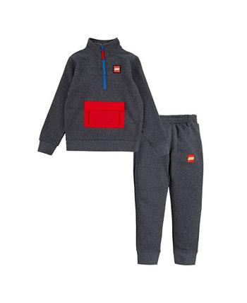 Пуловер и брюки Little Boys с застежкой-молнией, комплект из 2 предметов LEGO®