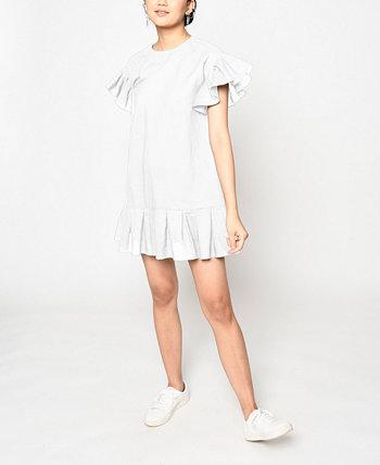Women's Mini Shift Dress Nicole Miller
