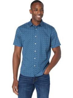 Классическая рубашка Wainscott из хлопка с короткими рукавами UNTUCKit
