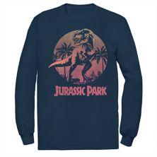 Мужская футболка Jurassic Park T-Rex Gradient Sunset Jurassic Park