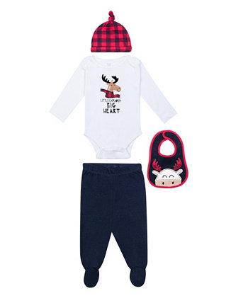 Комплект из 4 предметов для мальчиков Koala baby