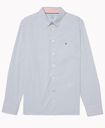 Men's Slim-Fit Shirt with Magnetic Buttons Tommy Hilfiger