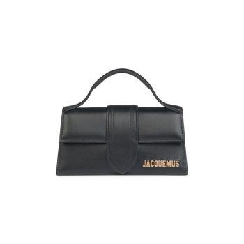 Кожаная сумка с ручкой сверху Le Bambino Jacquemus