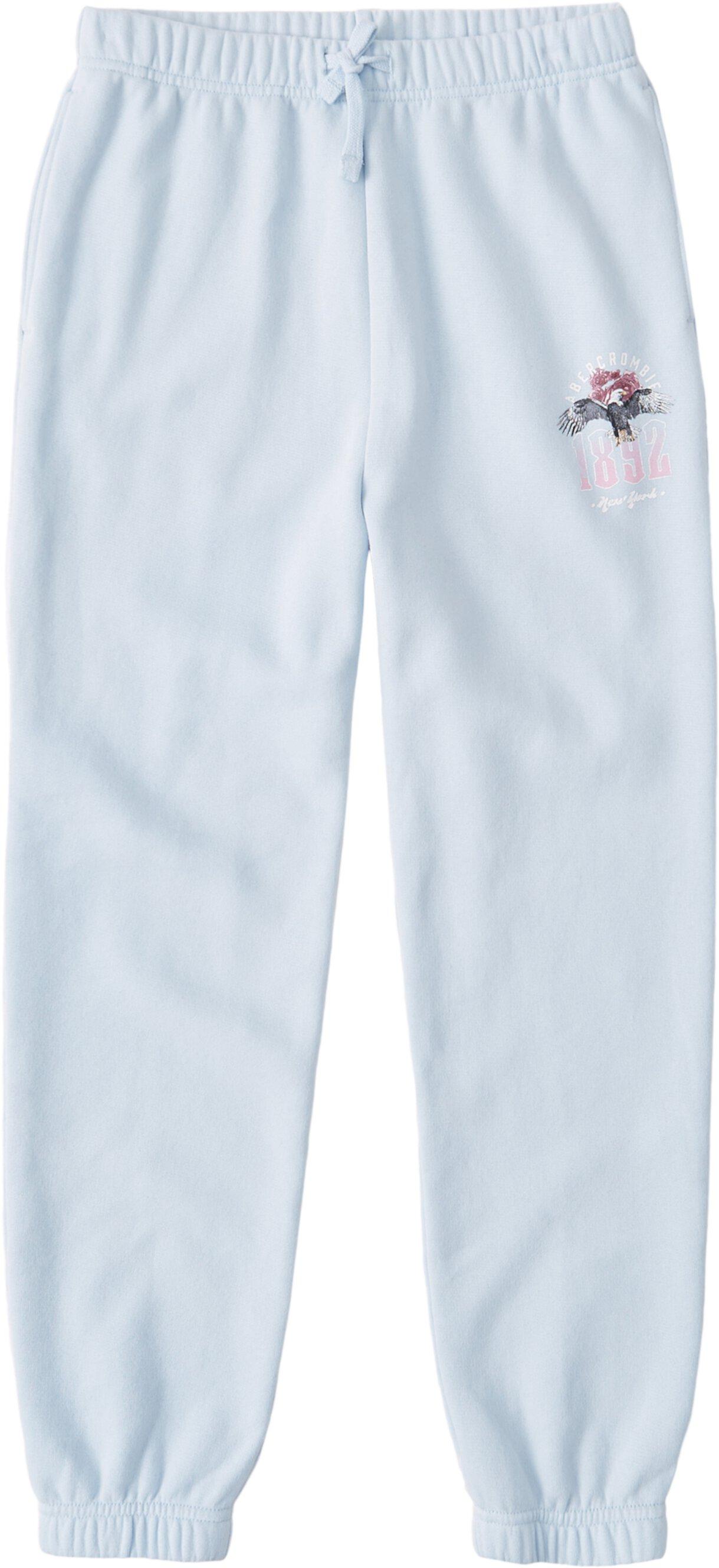 Классические спортивные штаны с логотипом (для маленьких и больших детей) Abercrombie kids