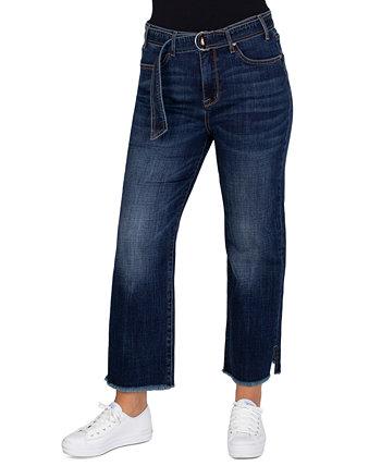 Прямые джинсы с поясом Seven7